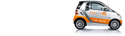 Unser Firmenauto für die Ambulante Pflege | Krankenpflege | Altenpflege